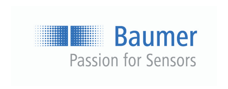 Baumer Logo with Passion for Sensors Tagline