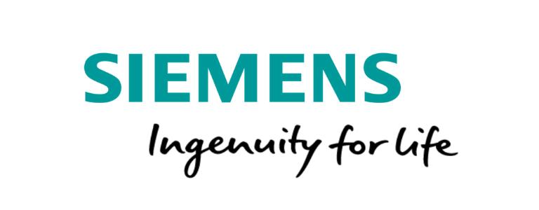 Siemens Logo with Ingenuity for Life Tagline
